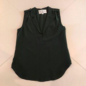 Rory Becca silk sleeveless top